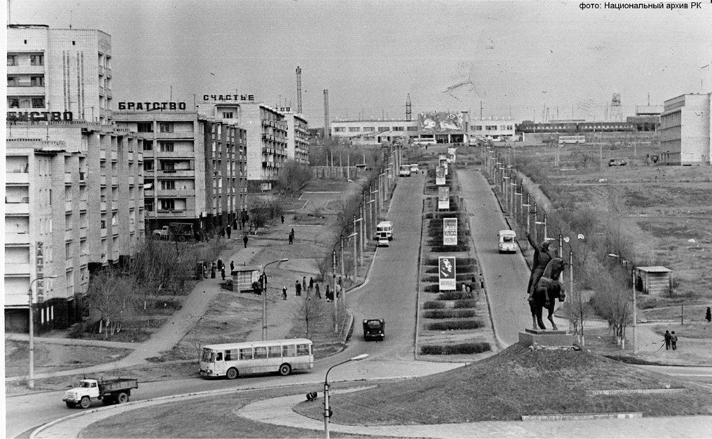 Проспект О.И. Городовикова. 1981 год.