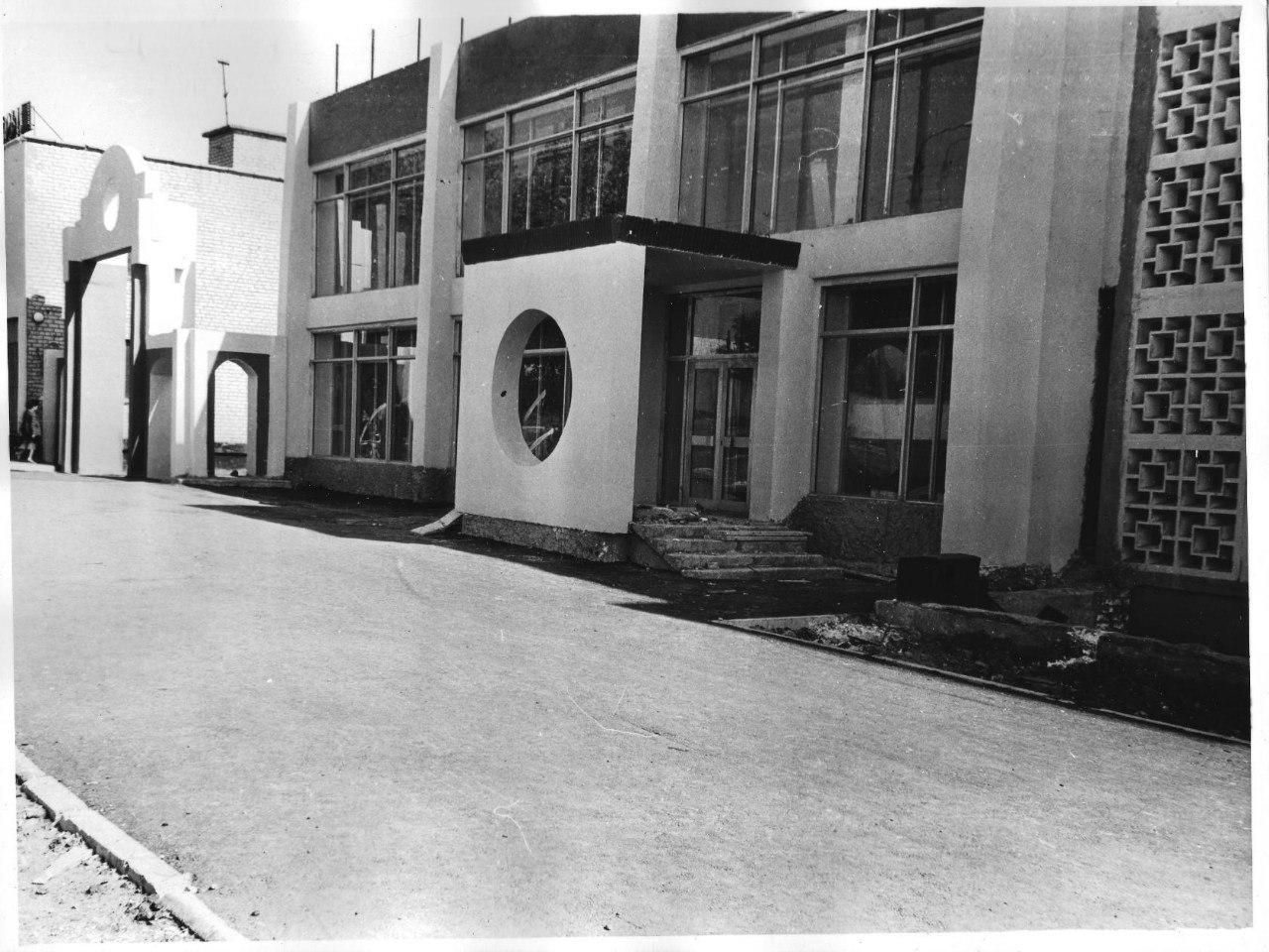 Магазин «Орбита» (101 квартал). 1988 год