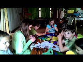 Мастер-класс по геральдике в летней воскресной школе
