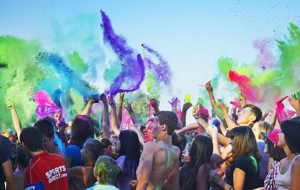 Официальные видеоотчеты с праздника красок Холи в Сумах