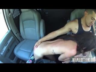 Трах мамки в машине