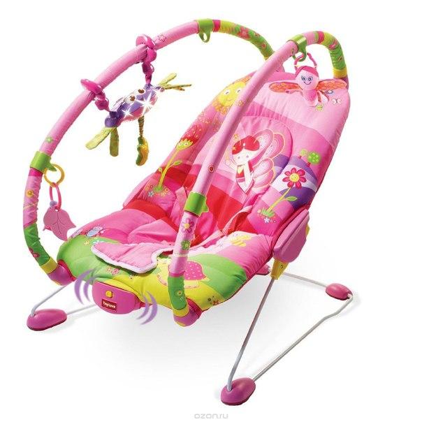 "Баунсер  ""моя принцесса"", цвет: розовый, зеленый, Tiny Love"