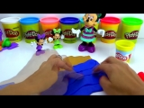 Плей до набор пластилина формочки морские животные Play doh Beach creations bucket