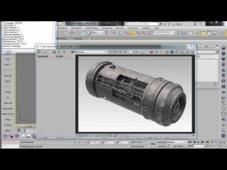 Shading A Hard Surface Model 2015: Texturing A Scifi Power Cell