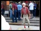 ORIGINAL Cool old man dancing, Granpa Shufflin'. Exclusive!