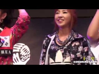 [FANCAM] (140623) ADIDAS All In Arena - 05 - Talk+I Am The Best (Minzy ver.)