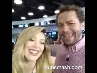 Hilary Duff singing
