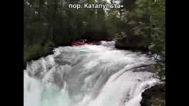 Жом Болок Ока саянская 2010 extreme rafting in Russia
