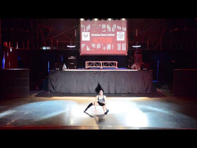 София Писклова Heels Solo Pro Action Dance Festival Kiev spring 2015