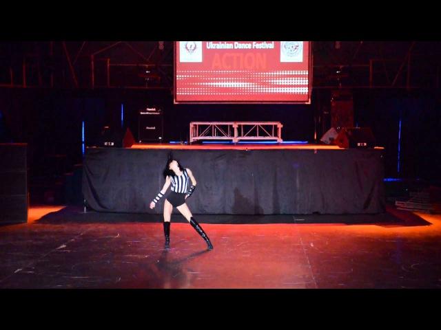 София Писклова Strip Dance Solo Pro Action Dance Festival Kiev spring 2015