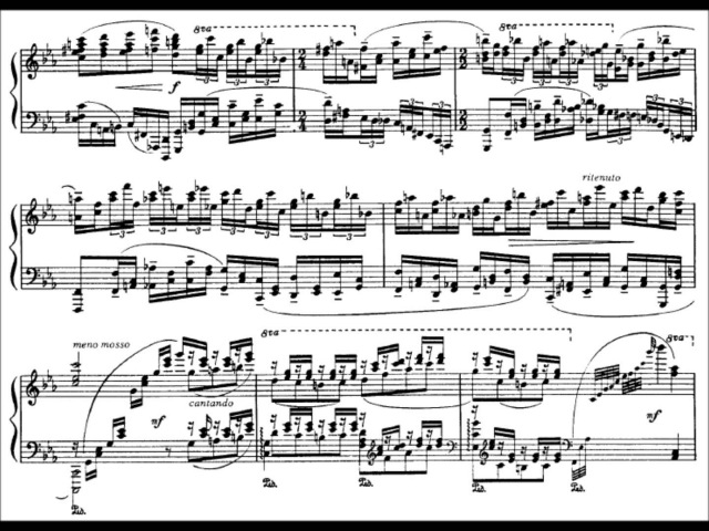 Cyprien Katsaris - Goodbye Mr. Rachmaninov (audio sheet music)