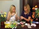 Пусть меня научат Корзина с тюльпанами из конфет Светлана Богданова Курск 10.03.2015