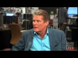David Hasselhoff talking about Justin Bieber in a recent interview with HuffPost Live