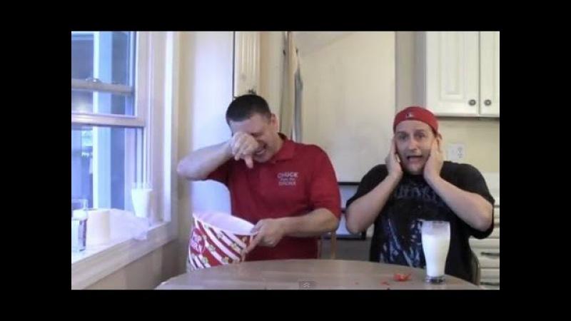 Carolina Reaper Hot Pepper Challenge ***Vomit Alert***