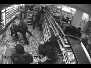Приколы в магазине. Видео с камер наблюдения