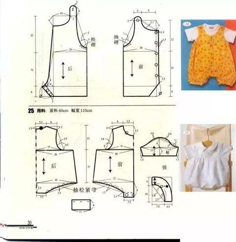 Детские вещи шьем выкройки