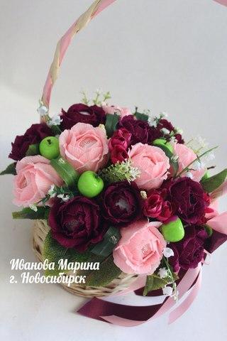 Иванова марина новосибирск цветы