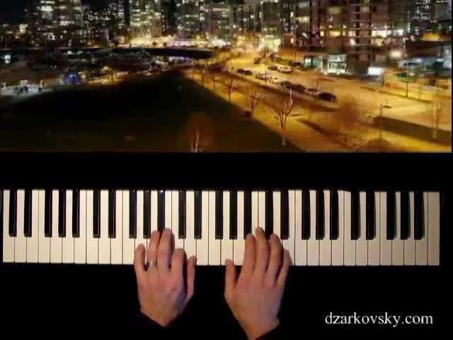Кино - Спокойная ночь кавер (пианино)