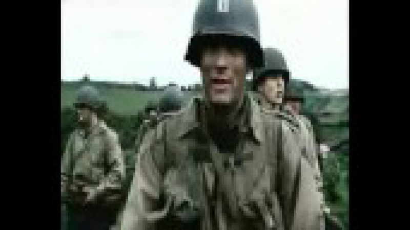 IRON MAIDEN - The trooper - Saving private Ryan