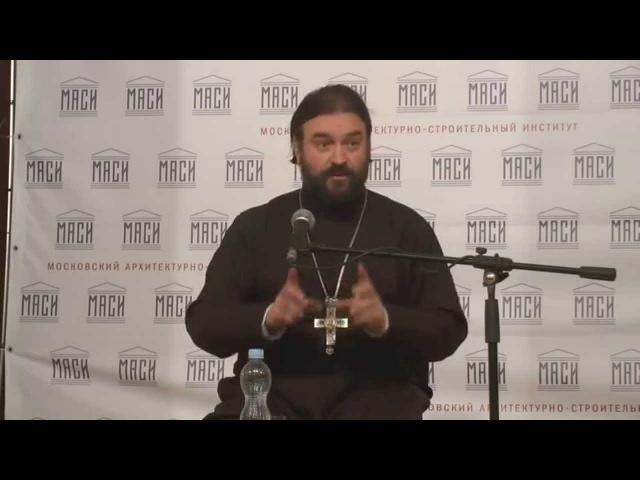 Протоиерей Андрей Ткачёв в Молодежном клубе Донском 13.11.2014