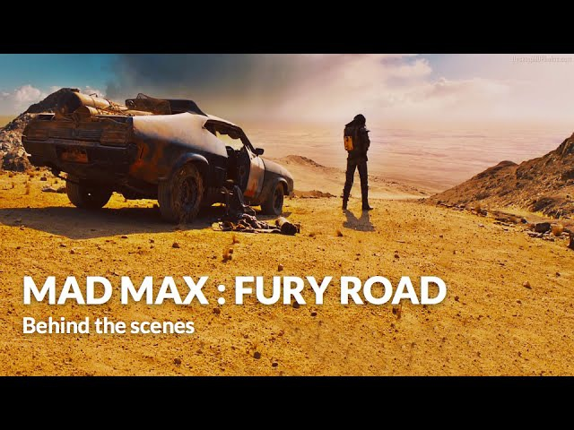 Behind the scenes - The five wives : Mad Max : Fury Road