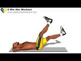 Lvl 1 - 8 Min Abs Workout/ Уровень 1 - 8 минут тренировки для пресса