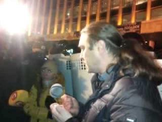 Митинг против выступления Ани Лорак в Киеве