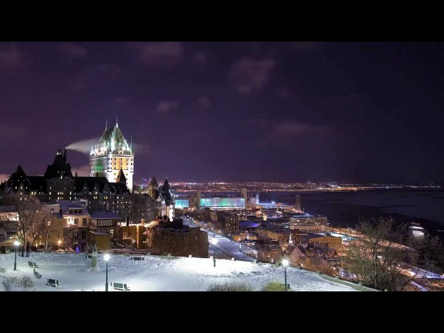 Timelapse - Quebec city (video from Dominic Boudreault, music from Andy S.M.)