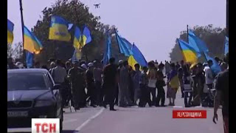Кримські татари і «Правий сектор» почали продовольчу блокаду Криму