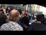 Ceephax acid crew Los Angeles 10.25.14 on a rooftop