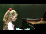 Varvara Kutuzova 9y. Chopin Valse №14 e-moll Варвара Кутузова 3 класс ЦМШ