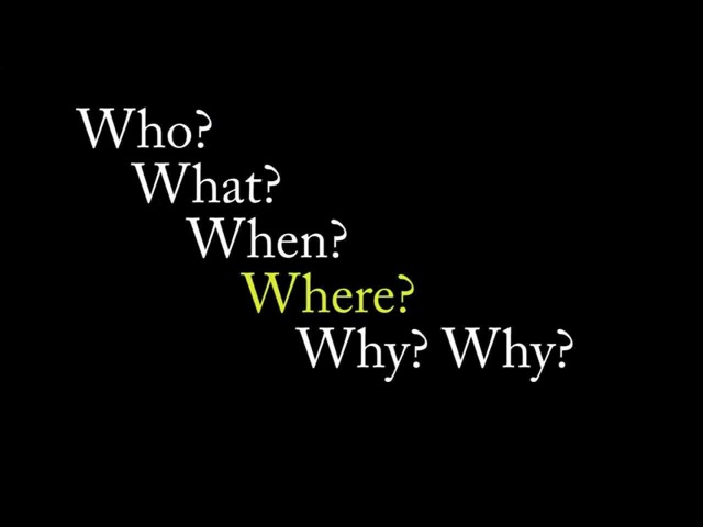 Jazz Chants - Who What When Where Why