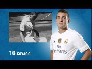 Заявка на матч Реал Мадрид - Шахтер Донецк (15.09.15, Лига Чемпионов)