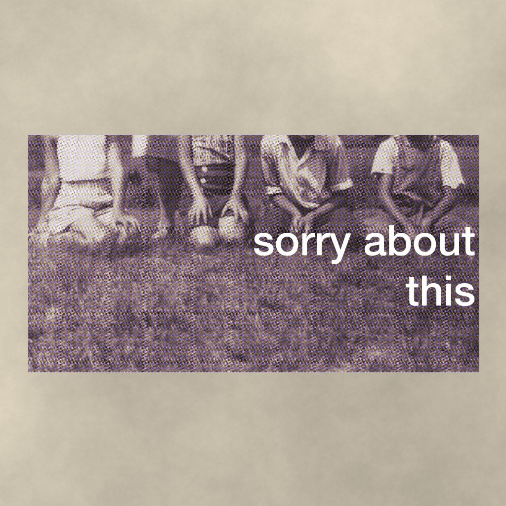 Sorry About This - Sorry About This (2015)