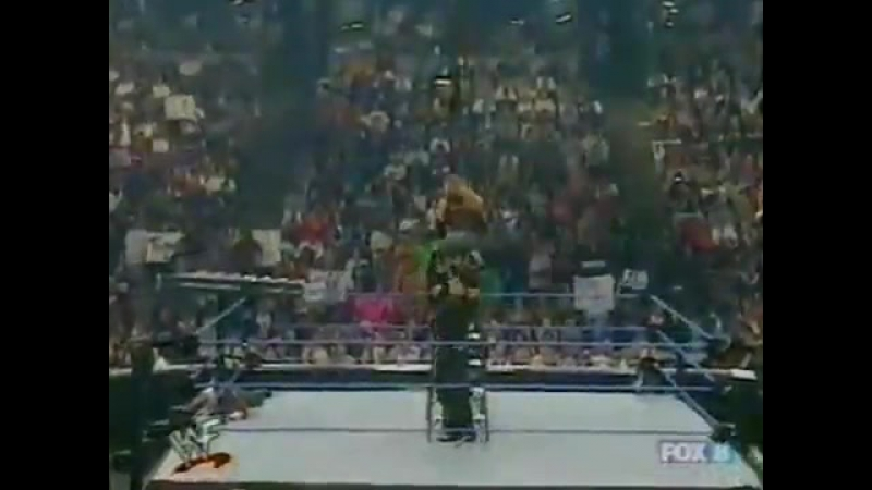 [My1] WWF SmackDown 24.05.2001 - Chris Jericho Chris Benoit (c) vs. Edge Christian vs. The Dudley Boyz vs. The Hardy Boyz (F