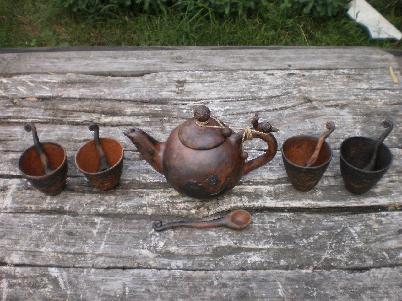 чайник керамика
