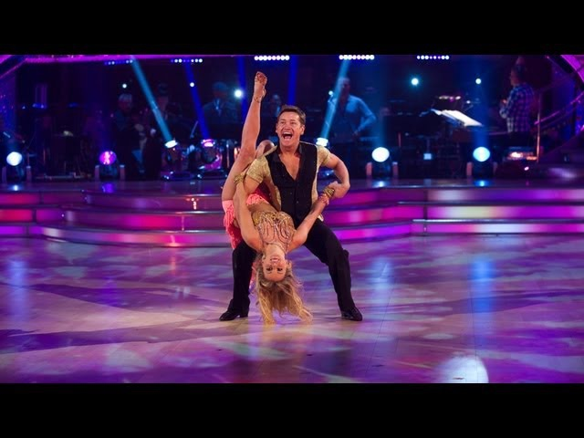 Sid Owen Ola Jordan dance to 'Hips Don't Lie' - Strictly Come Dancing 2012 - Week 2 - BBC One
