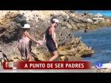 Corazon  - Cesc Fabregas y Daniella Semaan , a punto de ser papas.  25/6/2015