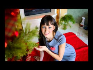 Christmas family. bu Anna Volkodav