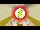Майнкрафт прохождение карты Flash паркур #1