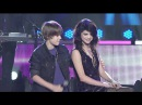 [1080p] Justin Bieber feat. Selena Gomez - One Less Lonely Girl - 12.31.09 (Dick Clark's New Year's Rockin' Eve 2010)