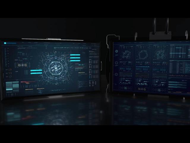 FUI ECHO - Screen Graphics / Fantasy User Interface