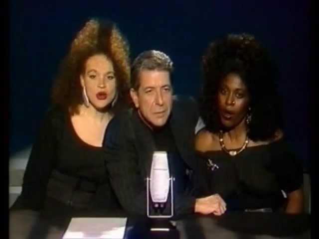 Leonard Cohen - First We Take Manhattan (complete, German TV, February 17, 1988)