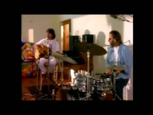 The Beatles reunion- live at Friar Park-1994 (full version)