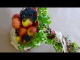 Флористика Букет из яблок в спиральной технике (Мастер Класс)