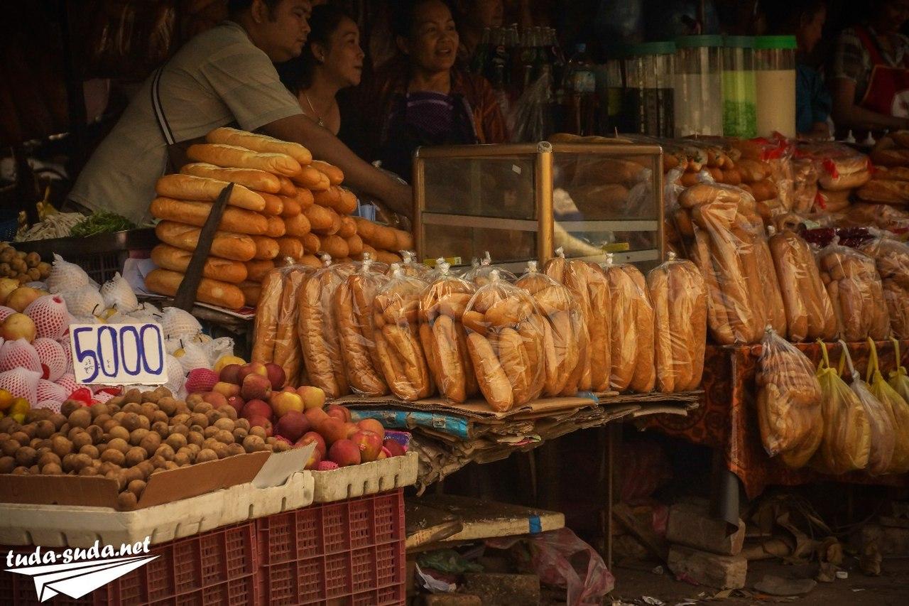 Еда во Вьентьяне