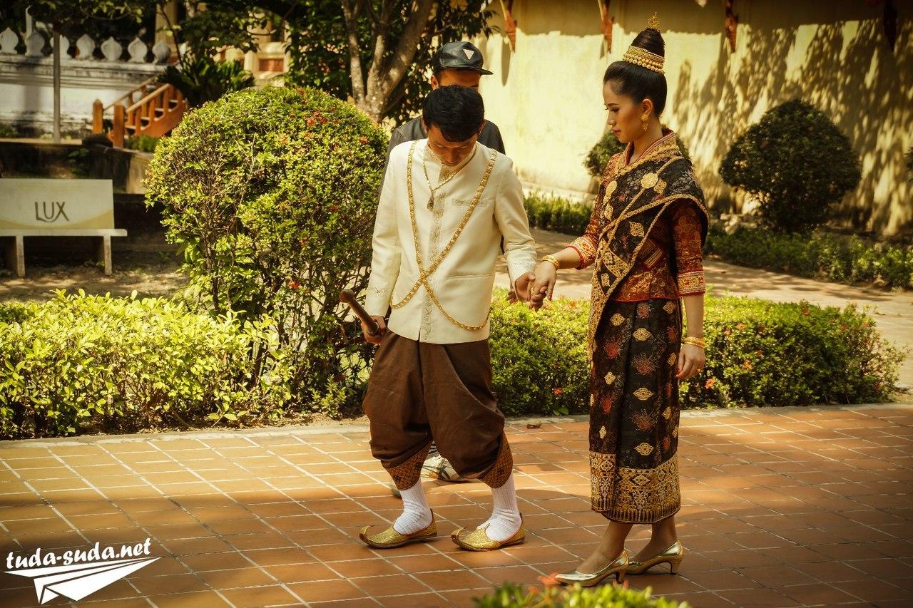 Национальная одежда Лаос