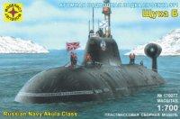 """Модель подводная лодка проекта 971 """"щука-б"""" (1:700), Моделист"""