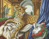 "Мозаичная картина ""римский леопард"", Белоснежка"