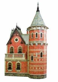 """Сборная модель из картона """"кукольный дом-3"""", Умная бумага"""